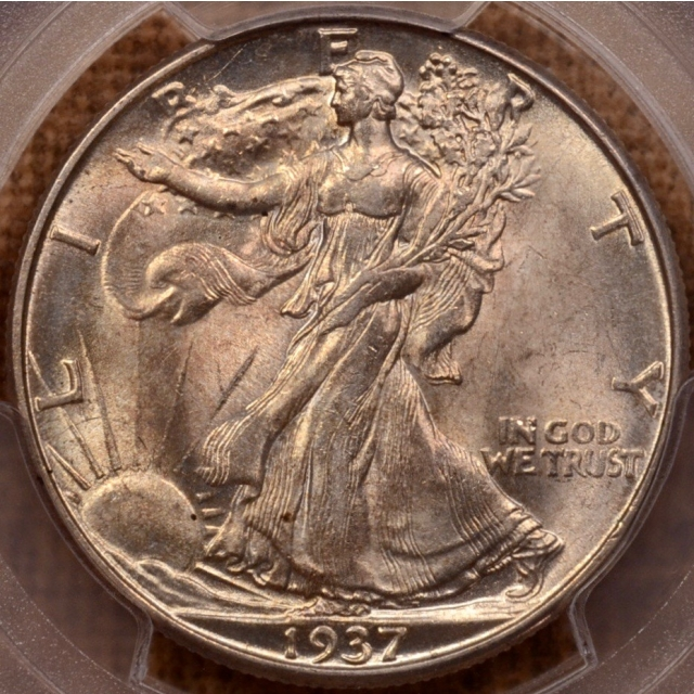 1937-D Walking Liberty Half Dollar PCGS MS63