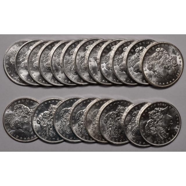1904-O BU Morgan Dollar Roll, original Choice BU
