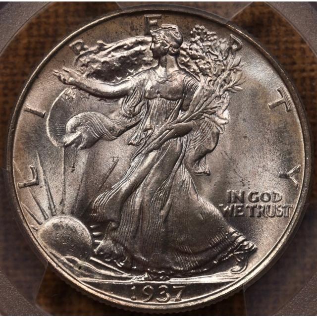 1937 Walking Liberty Half Dollar PCGS MS66 CAC