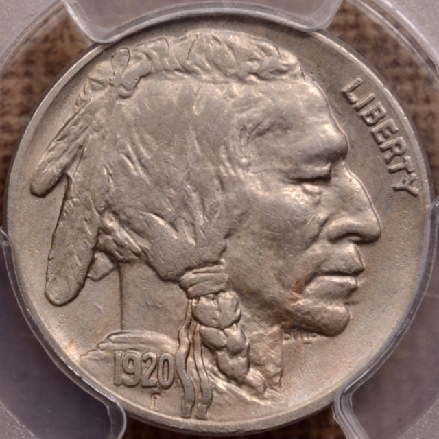 1920-S Buffalo Nickel PCGS AU50 CAC