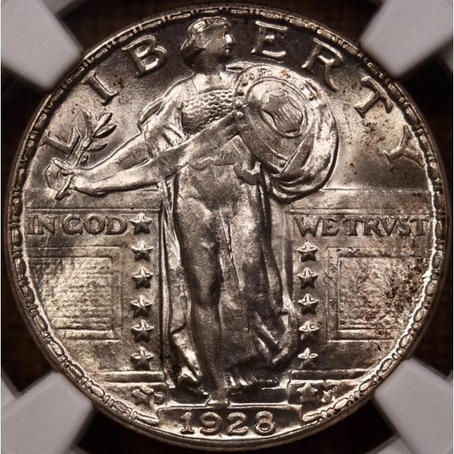 1928-D Standing Liberty Quarter NGC MS62...or better