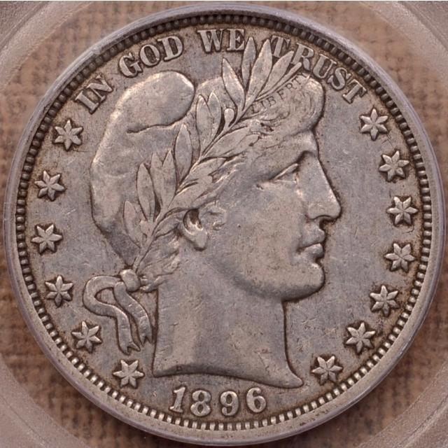1896-O Barber Half Dollar PCGS XF40 (CAC)