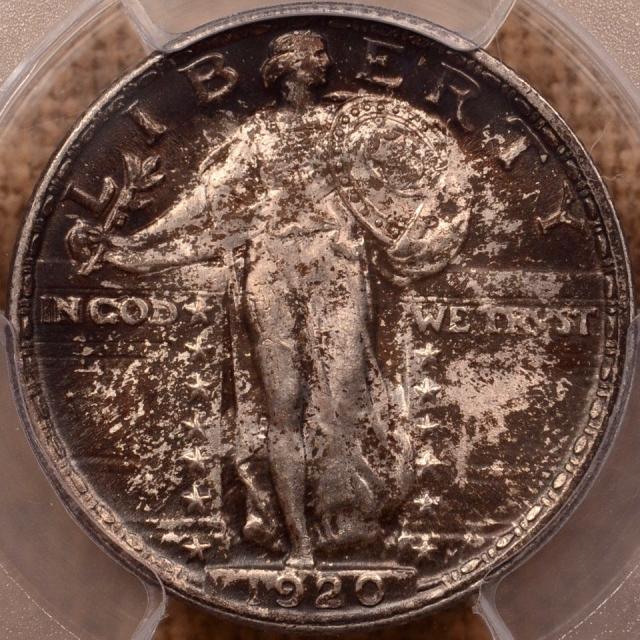1920 Standing Liberty Quarter PCGS MS64