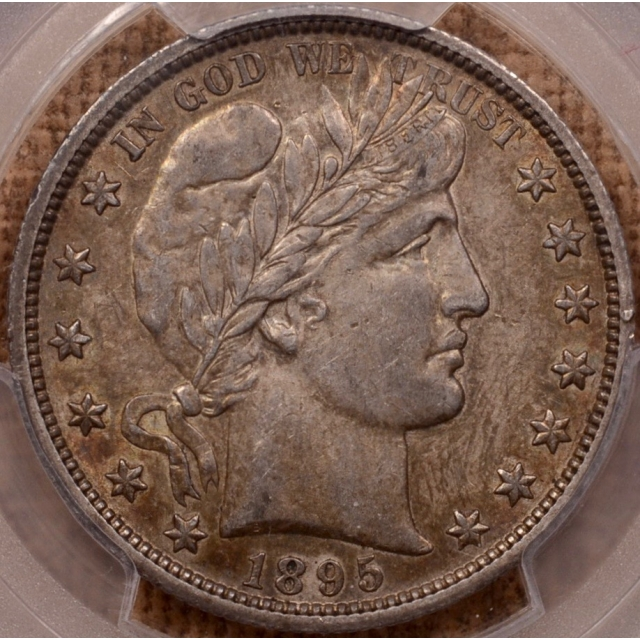 1895-O Barber Half Dollar PCGS AU53 (CAC)