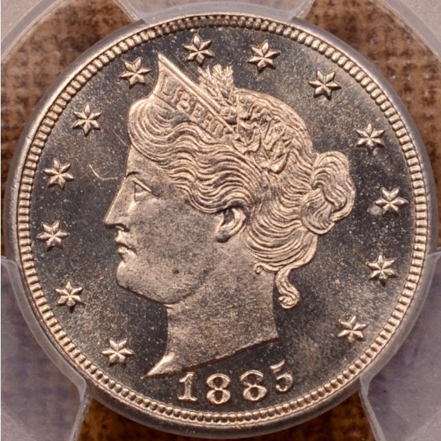 1885 Liberty Nickel PCGS PR65