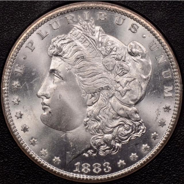 1883-CC GSA Morgan Dollar NGC MS66 (CAC)