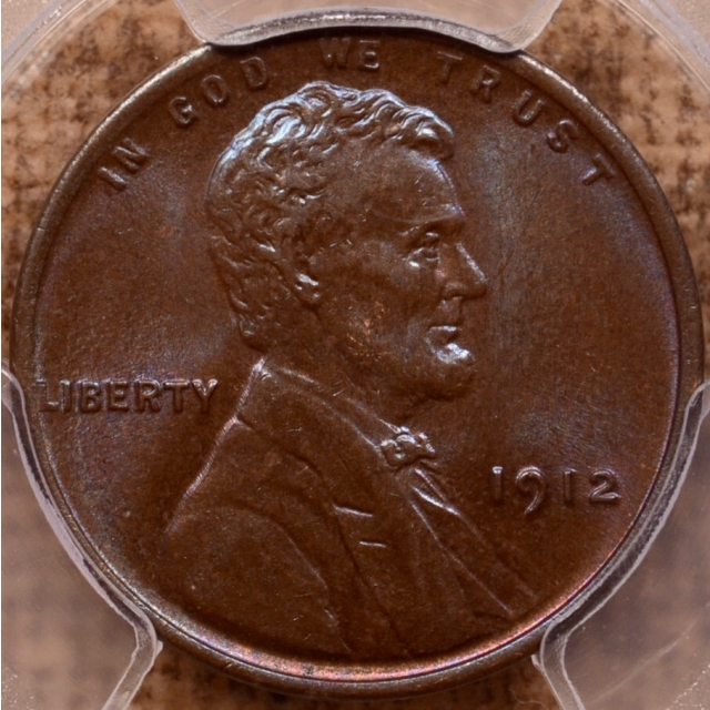 1912 Lincoln Cent - Type 1 Wheat Reverse PCGS MS64BN
