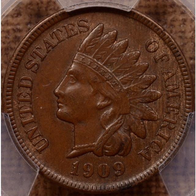 1909-S Indian Indian Cent PCGS AU55 (CAC)