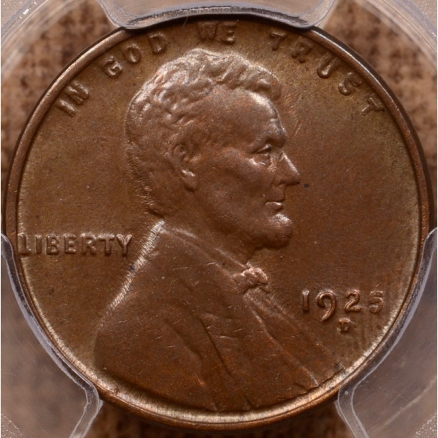1925-D Lincoln Cent PCGS MS63 BN
