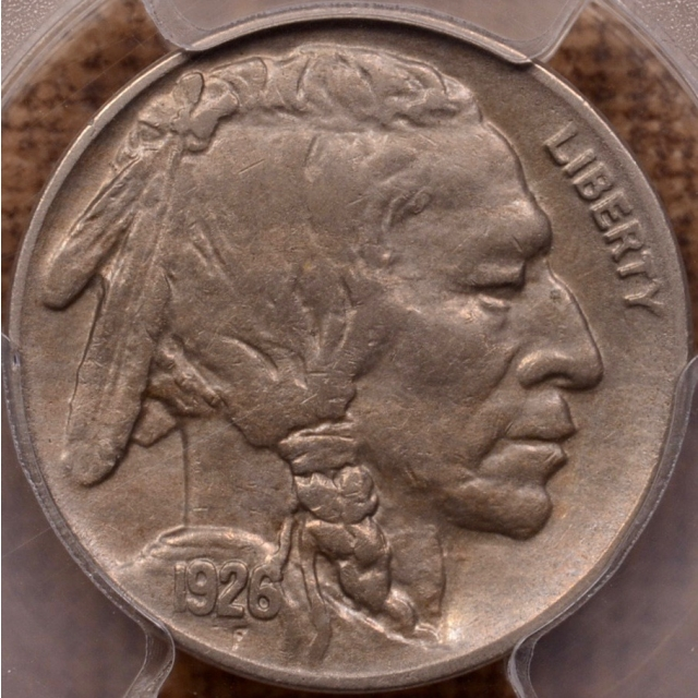 1926-S Buffalo Nickel PCGS AU53