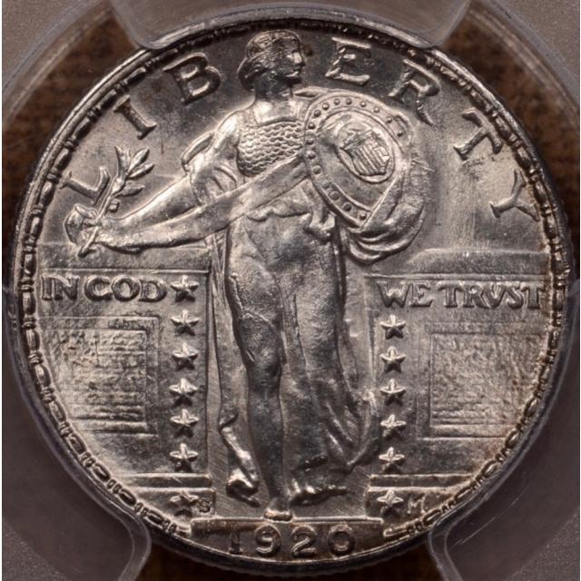 1920-S Standing Liberty Quarter PCGS MS63 (CAC)