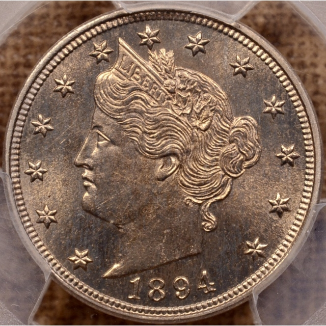1894 Liberty Nickel PCGS PR65