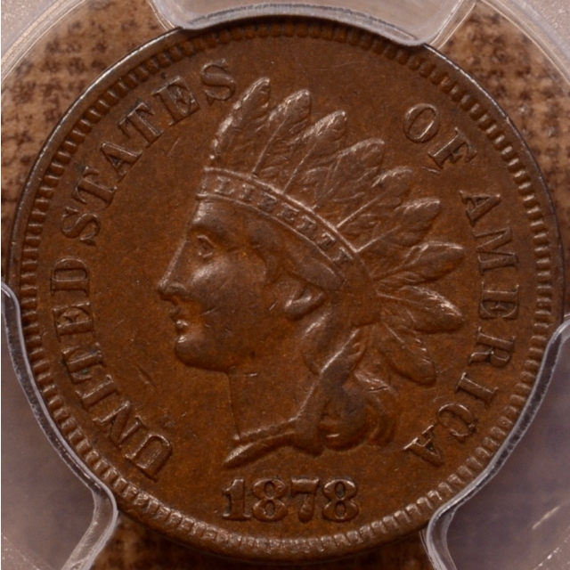 1878 Indian Cent PCGS XF45