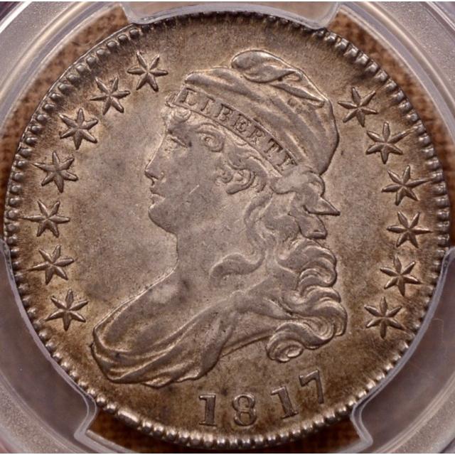 1817 O.103'b' R6? Capped Bust Half Dollar PCGS AU50 CAC
