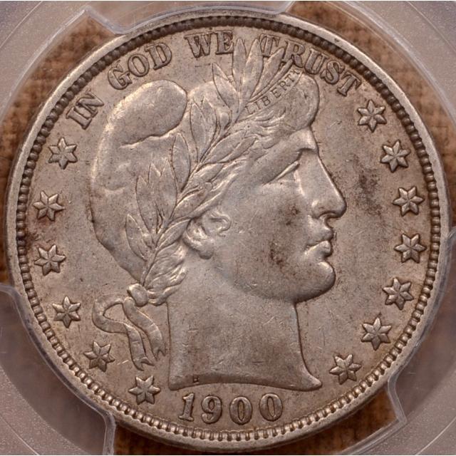1900-O Barber Half Dollar PCGS AU50 (CAC)