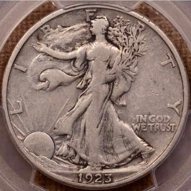 1923-S Walking Liberty Half Dollar PCGS VF25