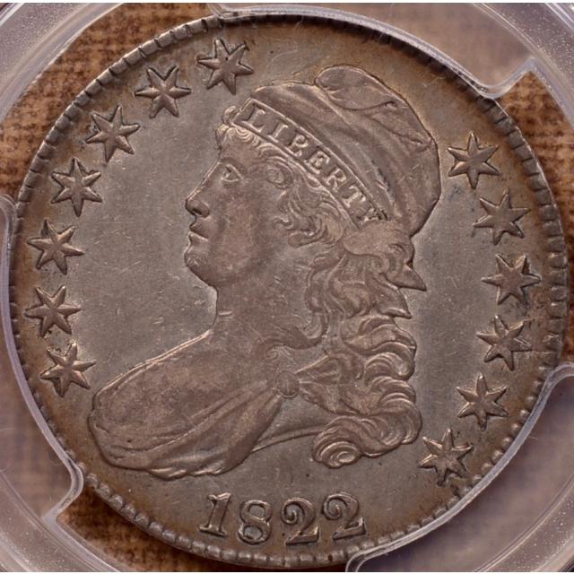 1822 O.112 R4 Capped Bust Half Dollar PCGS XF40