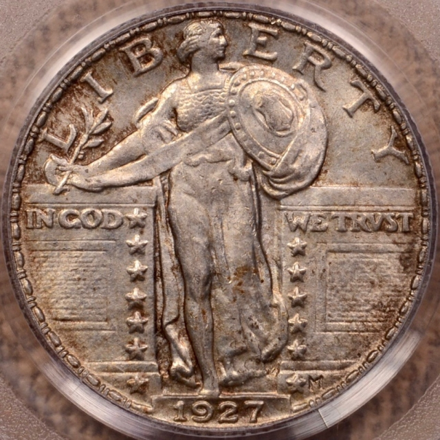 1927 Standing Liberty Quarter PCGS MS63FH