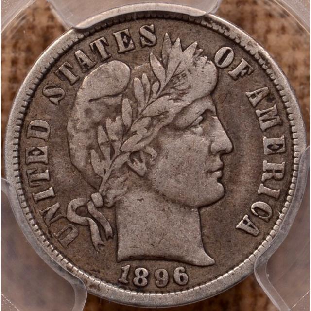 1896-O Barber Dime PCGS VF20