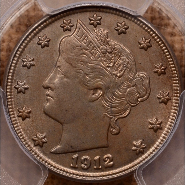 1912-S Liberty Nickel PCGS MS63 (CAC)