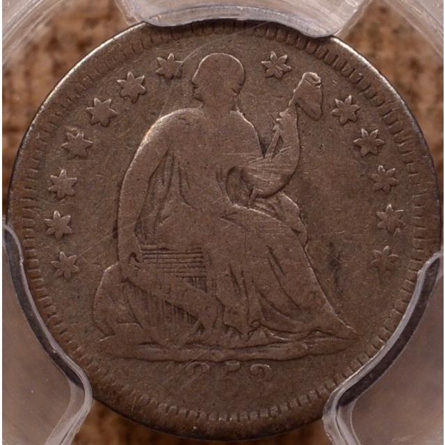 1853-O No Arrows Liberty Seated Half Dime PCGS G6