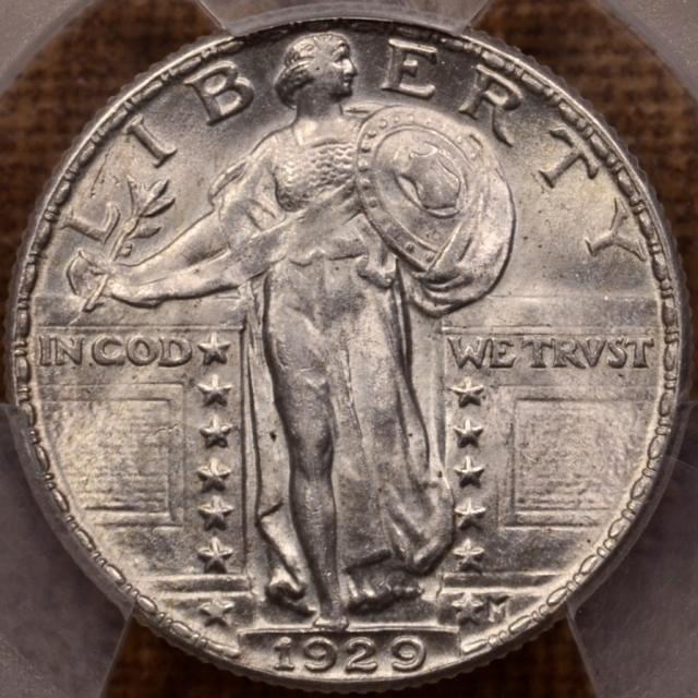 1929 Standing Liberty Quarter PCGS MS63 FH