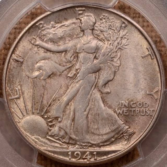 1941-S Walking Liberty Half Dollar PCGS MS64