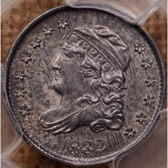 1832 Capped Bust Half Dime PCGS MS62 (CAC)