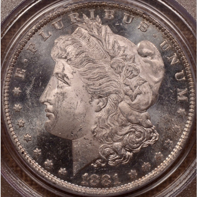 1881-O Morgan Dollar PCGS MS63 DMPL OGH CAC