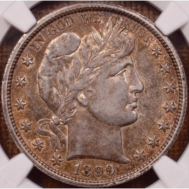 1899-O Barber Half Dollar NGC AU50