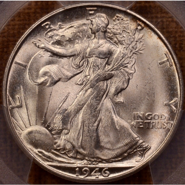 1946-S Walking Liberty Half Dollar PCGS MS64+
