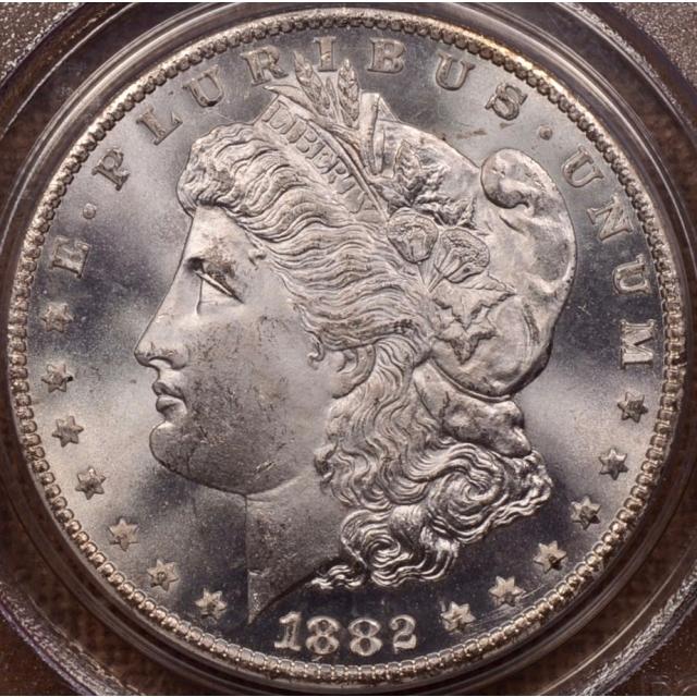 1882-CC Morgan Dollar PCGS MS65 OGH (CAC)