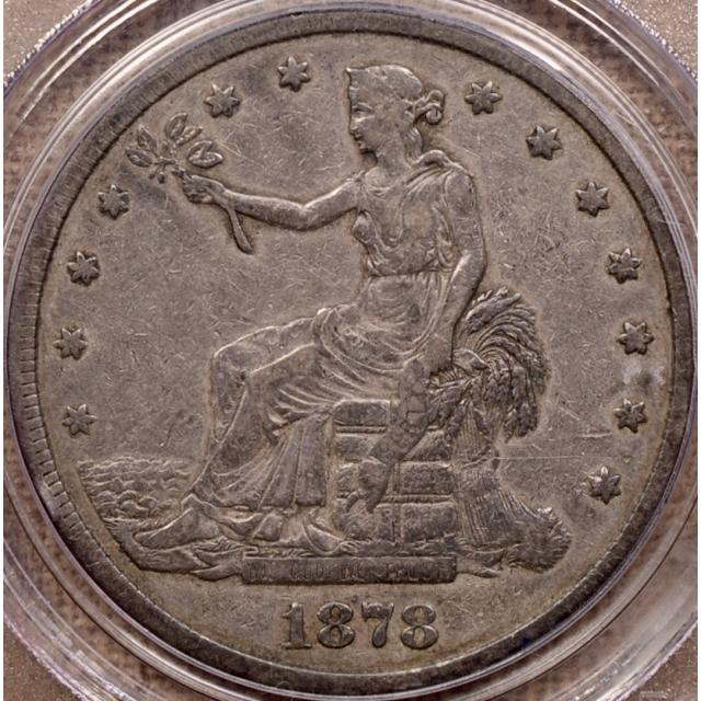 1878-CC Trade Dollar PCGS VF25