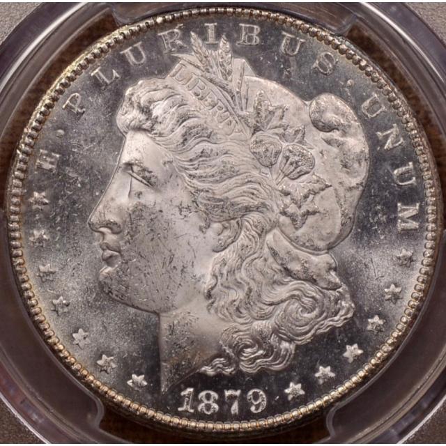 1879-CC Morgan Dollar PCGS MS62 (CAC), Semi PL & sweet!