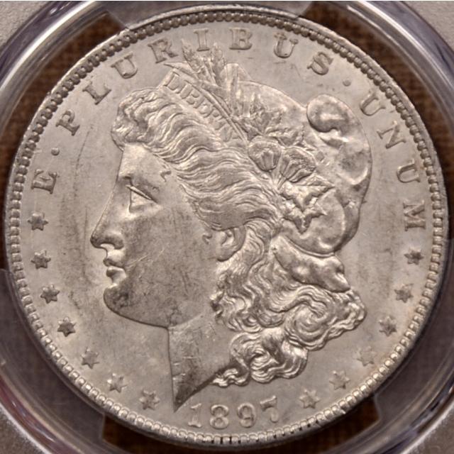 1897-O Morgan Dollar PCGS AU55