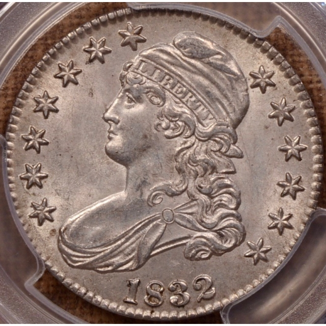 1832 O.103 Small Letters Capped Bust Half Dollar PCGS MS62 CAC