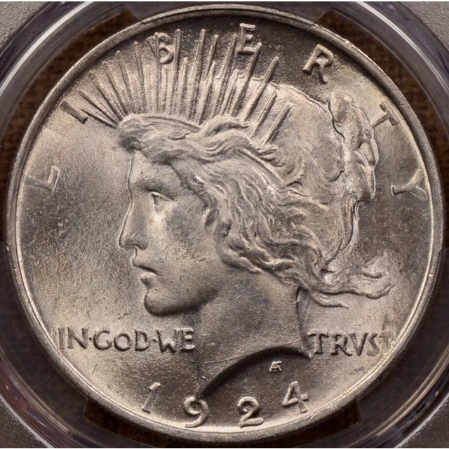 1924 Peace Dollar PCGS MS65