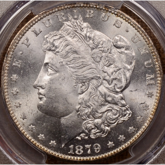 1879-S Morgan Dollar PCGS MS64+