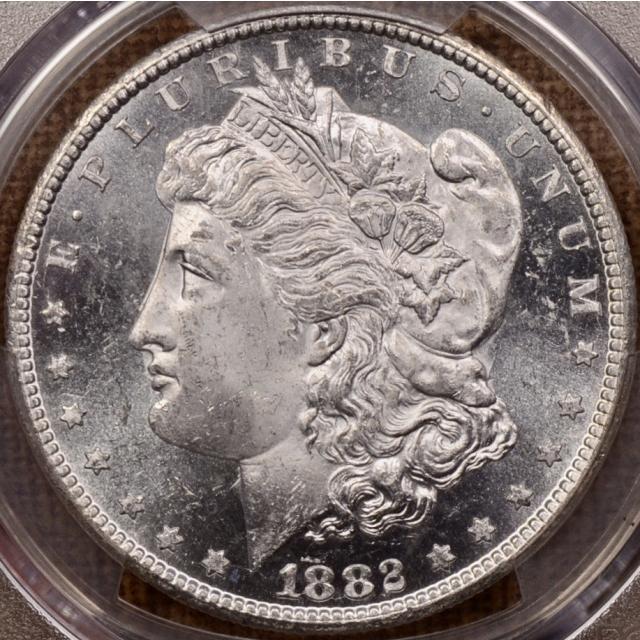 1882-CC Morgan Dollar PCGS MS63 PL
