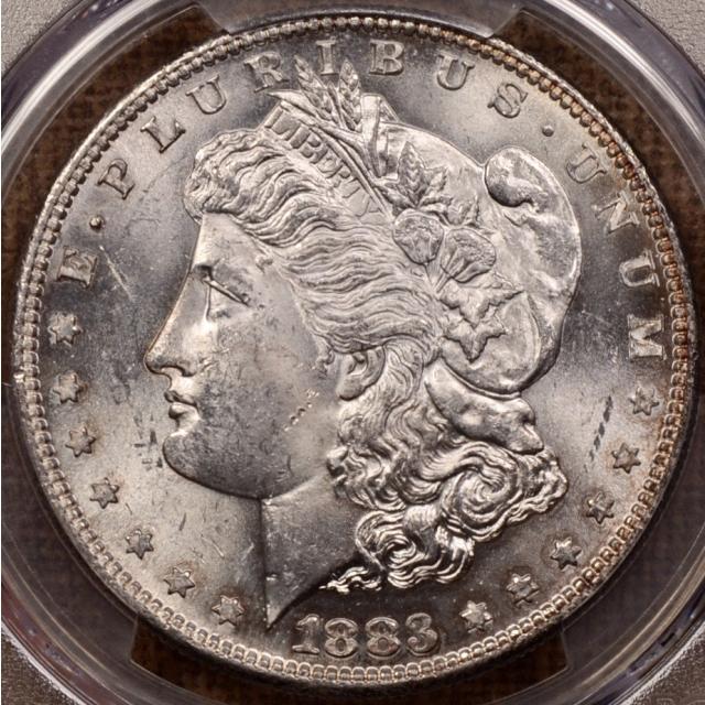 1883-S Morgan Dollar PCGS MS62 CAC