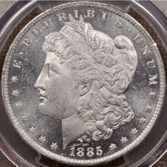 1885-O Morgan Dollar PCGS MS64+ DMPL