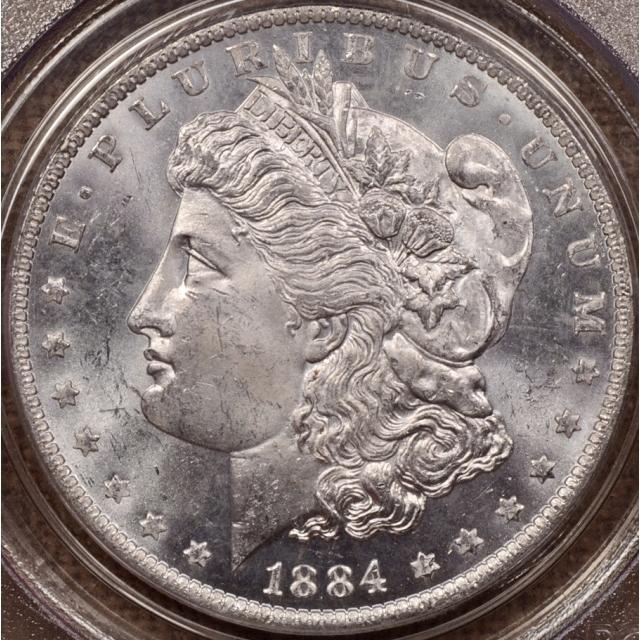 1884-O Morgan Dollar PCGS MS63 PL OGH