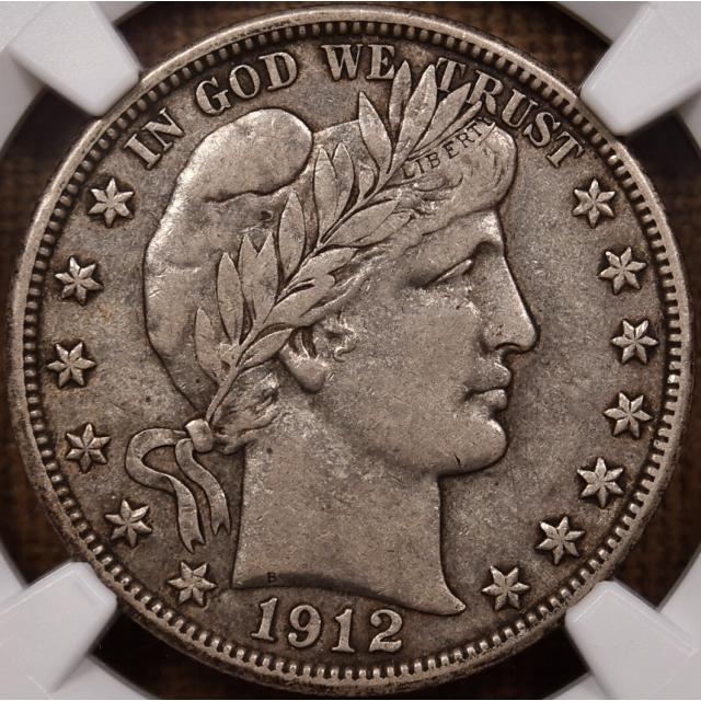 1912-D Barber Half Dollar NGC VF30