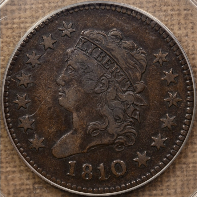 1810/09 S.281 Classic Head Cent PCGS VF35 OGH CAC
