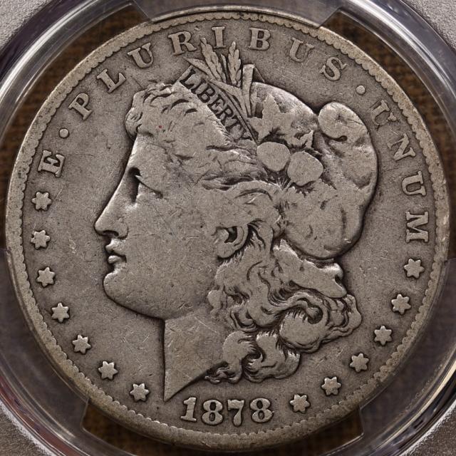 1878-CC Morgan Dollar PCGS VG8