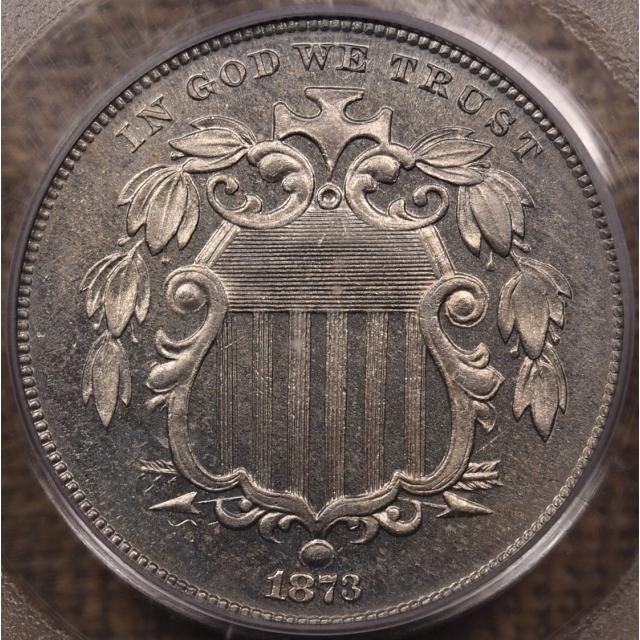 1873 Proof Shield Nickel PCGS PR64 OGH CAC