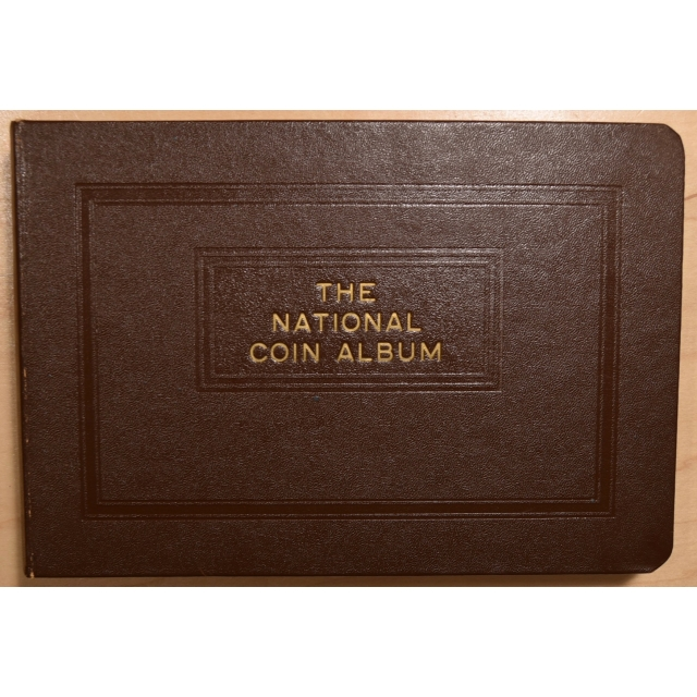 National Coin Albums for Washington Quarters, Complete thru 1964-D