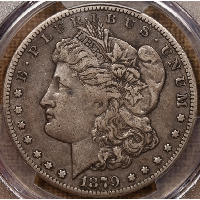 1879-CC Morgan Dollar PCGS VF35 CAC