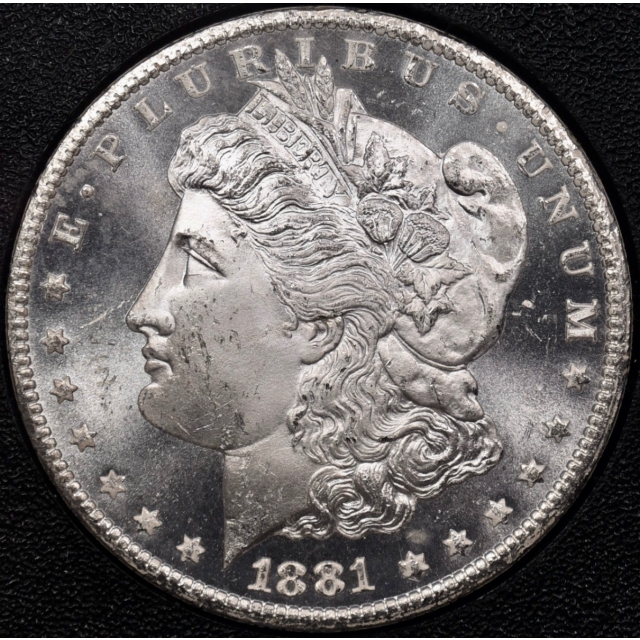 1881-CC GSA Morgan Dollar NGC MS64 CAC