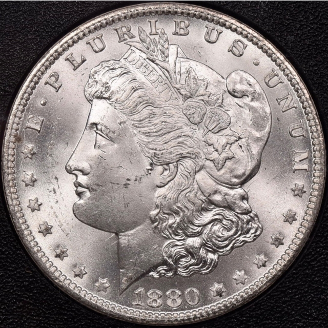 1880-CC VAM-7A Reverse of 78 Hitlist-40 GSA Morgan Dollar NGC MS64 CAC